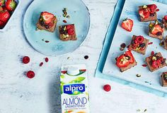 Indulge in plant-based fudge by Alpro
