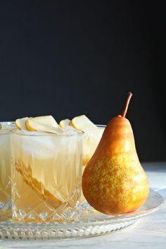 #vinegar #saladdressing Spiced Pear & Ginger gourmet fruit vinegar. www.wozzkitchencreations.com