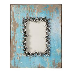 #zgallerie Shelby Frame $27.95 - I love this aquamarine frame.  What a fantastic way to display Mia's picture!
