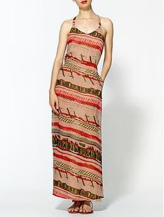 Hive & Honey Printed Pocket Maxi   Piperlime