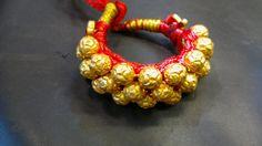 Pauchi... traditional bracelet Ethnic Jewelry, Indian Jewelry, Gold Jewelry, Gold Bangle Bracelet, Gold Bangles, Rajputi Jewellery, My Roots, Indian Dresses, Desi