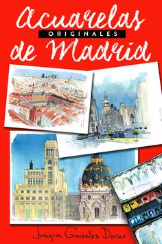 Madrid, Spain, Pencil, The Originals, Illustration, Pictures, Home, Water Colors, Author