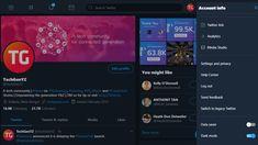 Twitter tests its new interface layout 'Sneak a Peek' for desktop Twitter Design, Make It Stop, New Twitter, Twitter Layouts, User Interface Design, Homescreen, Desktop, News, Ui Design
