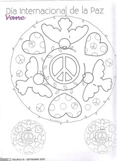 Archivo de álbumes Peace Crafts, Square 1 Art, World Peace Day, Paper Child, International Day Of Peace, Crafts For Kids, Arts And Crafts, Weird Holidays, Too Cool For School