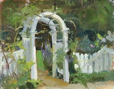 Great Artists, Top Artists, Artist Quotes, 1 John, Easy Paintings, Get Outside, Still Life, Gate, Scene