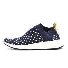 lowest price 818cf 85bb7 hombres   mujeres Adidas Trainers NMD City Sock CS2 Azul profundo punto de  la onda Zapatos para correr BA7211