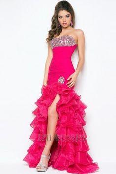 Trumpet/Mermaid Sweetheart Chiffon Prom dress - IZIDRESSES.com
