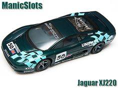 Slot Cars, C483 Scalextric Jaguar XJ220