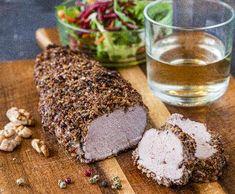 Vepřová panenka v hořčičné krustě | Recepty Albert Pork, Meat, Pork Roulade, Pigs, Pork Chops