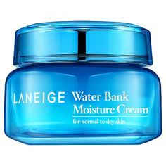 Korean Skincare: Acne, rec from Alicia Yoon | Laneige Water Bank Moisture Cream - 50 ml