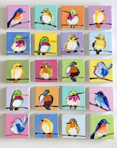 Take your pick tomorrow morning at on my site! Which is your fave?🤔🤔 Take your pick tomorrow morning at on my site! Which is your fave? Small Canvas Paintings, Mini Canvas Art, Small Paintings, Animal Paintings, Indian Paintings, Art Paintings, Art Mini Toile, Arte Fashion, Bird Drawings