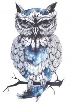 Cheap tattoo sticker, Buy Quality big temporary tattoos directly from China temporary tattoo Suppliers: New Big Temporary Tattoos HD Large Body Art Glass Cool OWL Fashion Flash Taty Tattoo Stickers wholesales Tattoo Drawings, Body Art Tattoos, Cool Tattoos, Art Drawings, Circle Tattoos, Sketch Tattoo, Awesome Tattoos, Hand Tattoos, Small Tattoos