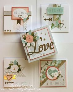 3 x 3 note cards and box