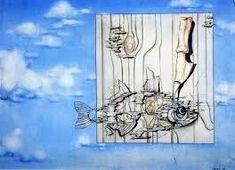 Výsledek obrázku pro vladimír sychra obrazy Painting Art, Fish, Twitter, Modern Paintings, Art Production, Pisces, Painting