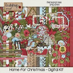 Home for Christmas  Digital Kit