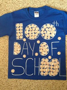 100th day of school shirt
