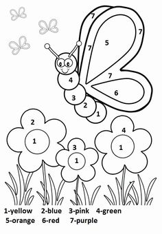 Spring Coloring Pages: Spring coloring sheets can actually help your kid learn more about the spring season. Here are top 25 spring coloring pages free Butterfly With Flowers Coloring Pages Silly Butterfly Coloring Page - Free Printable Coloring Book Page Coloring Worksheets For Kindergarten, Seasons Worksheets, Kindergarten Addition Worksheets, Kindergarten Colors, Preschool Coloring Pages, Shapes Worksheets, Number Worksheets, Pre Kindergarten, Reading Worksheets