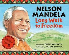 Have kids read bios of famous people from other countries. This is Nelson Mandela's autobiography for kids, plus pre-reading activities and explaining apartheid. Extension activities and additional resources.