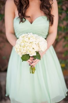 Wow, really like this! Mint dress.