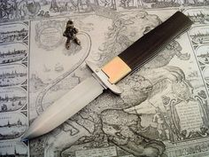 manual switchblade by Crypticknives on Etsy