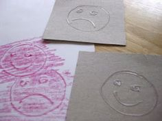 doodle rubbings (diy rubbing plates with hot glue)  I would recommend this for older preschoolers/grade school kids.  The under 4 set may not have the motor skills.  Then again, why not try it anyway?  :)