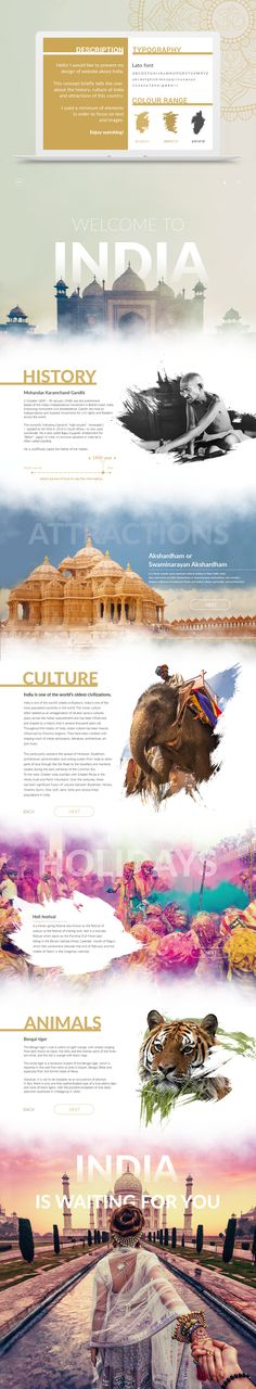 Welcome to India on Behance