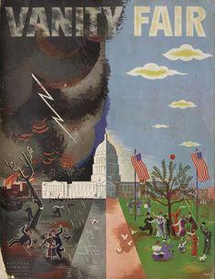 'Fickle Washington' by artist Vladimir Bobritsky, May 1933.