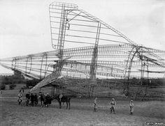 R101 wreck Beauvais, France