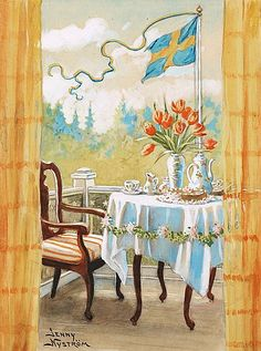 Jenny Nyström (Swedish, 1854 - Шведская художница и иРElsa Beskow, Munier, Book Images, Large Prints, Some Pictures, First Night, Gouache, Vintage Posters, Wall Murals