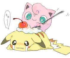 pikachu & jigglypuff