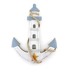 Woodworking That Sell Tools Wooden Nautical Lighthouse Anchor Wall Hanging Ornament Plaque.Woodworking That Sell Tools Wooden Nautical Lighthouse Anchor Wall Hanging Ornament Plaque Nautical Bathroom Design Ideas, Nautical Bathrooms, Nautical Home, Bathroom Ideas, Nautical Anchor, Anchor Painting, Carpenter Bee Trap, Anchor Wall Decor, Anchor Decorations