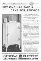 GE Refrigerator Supreme Efficiency 1930 Ad Picture