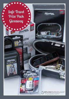 "Spring Safety – MasterLock ""Safe Travel"" Prize Pack Giveaway #LSSS"