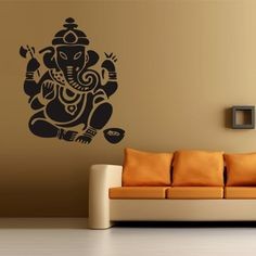 Wall decal art decor decals sticker Ganesh Buddhism India Indian namaste Buddha OM Yoga success god lord (m72) DecorWallDecals http://www.amazon.com/dp/B00FVSA3SK/ref=cm_sw_r_pi_dp_IhOXub11QAZ85
