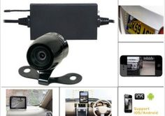 Car Parking Camera for Smartphones – your Android or iPhone device can now work as a wireless car parking camera