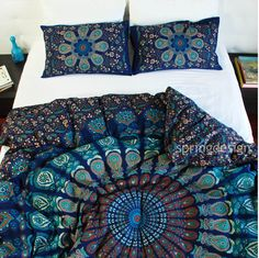 Hey, I found this really awesome Etsy listing at https://www.etsy.com/listing/259772711/vayu-queen-or-twin-size-mandala-duvet