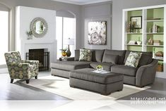gray living rooms - Google Search