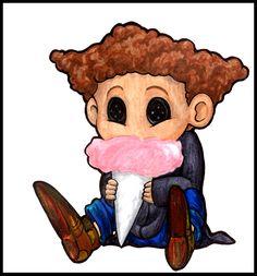 Wyborn Lovatt from Coraline chibi fan art Coraline Jones, Tim Burton Characters, Tim Burton Films, Disney Drawings, Cute Drawings, Coraline Neil Gaiman, Coraline Drawing, Coraline And Wybie, Chibi