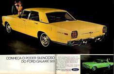 Anúncio Ford Galaxie 500 - 1970