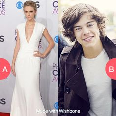 Look like taylor swift or date harry styles? Click here to vote @ http://getwishboneapp.com/share/10726177