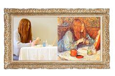 Madame Poupoule alla toletta di Henri De Toulouse-Lautrec della redazione artisticooggi. #imparalarte