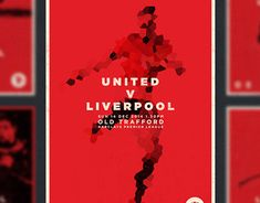 Consultez ce projet @Behance: \u201cU.N.I.T.E.D Match Day Posters\u201d https://www.behance.net/gallery/22049737/UNITED-Match-Day-Posters