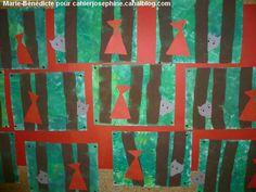 """Résultat de recherche d'images pour """"chaperon rouge maternelle arts plastiques"""""""