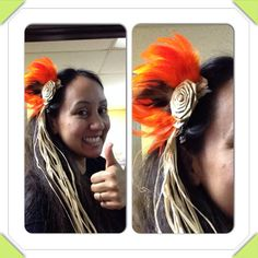 Super Simple MANU hairclip by hulamelani on Etsy