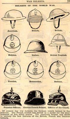 Helmets, WWI
