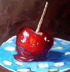 """Candy Apple"" - Original Fine Art for Sale - © Kristen Dukat"