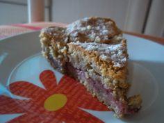 Tarta de fresas y canela. www.ladulceali.blogspot.com