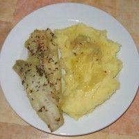 Ryba na masle a cibuli