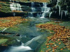 Starved Rock State Park in Central Illinois