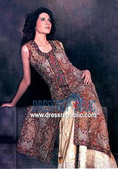 Dusty Maroon Atlanta, Product code: DR1015, by www.dressrepublic.com - Keywords: Pakistani Shalwar Kameez Retailers Online Shop Houston, TX, USA